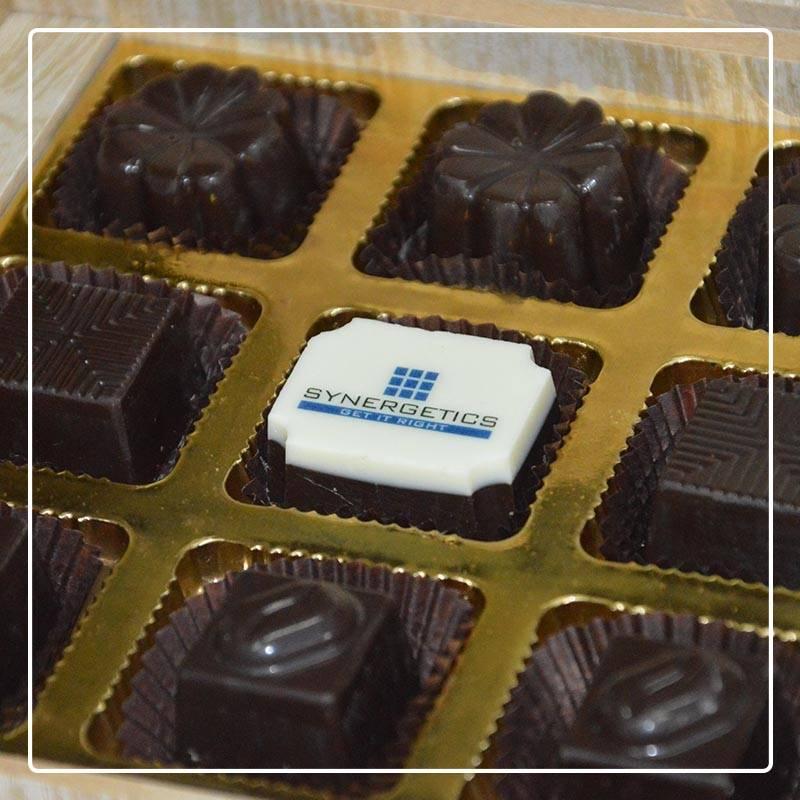 Box of chocolates as diwali gift