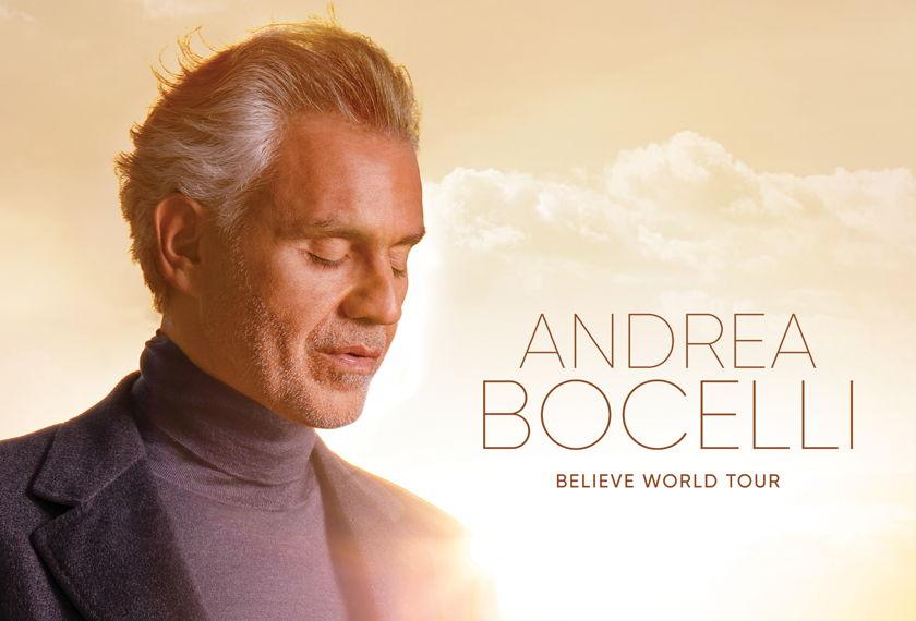 Andrea Bocelli (New Date) artwork