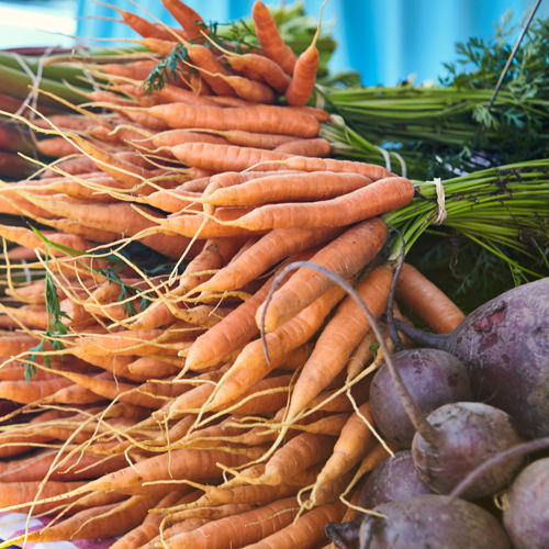 Picture of The Omaha Farmers Market is open every Saturday in Omaha's Historic Old Market for the city's best selection of farm-fresh, local produce and food.