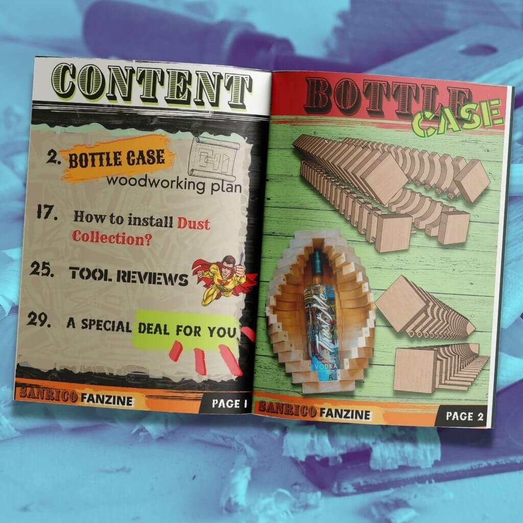 Sanrico Fanzine Bottle Case Issue