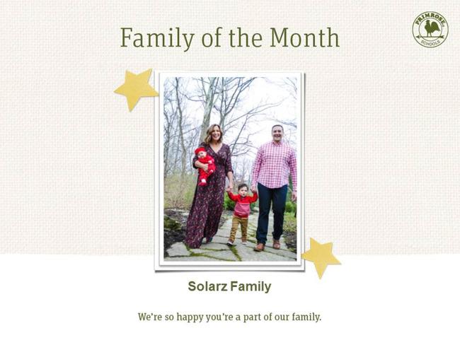 Solarz Family