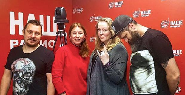 Юлия Ауг побывала в гостях у «Подъемников» - Новости радио OnAir.ru