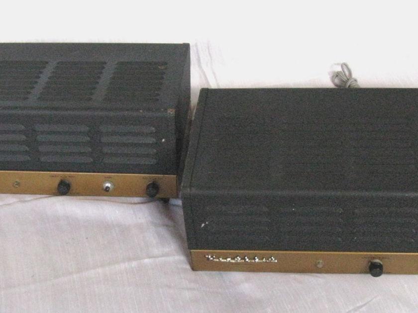 Matching Pair of Heathkit   W7 Power Amps