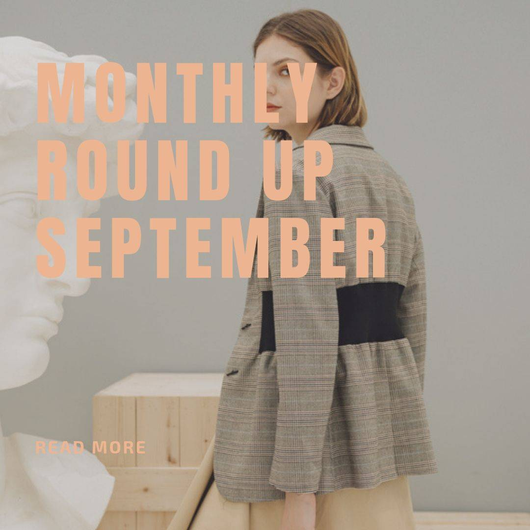 Monthly Round Up September Fashion Selection