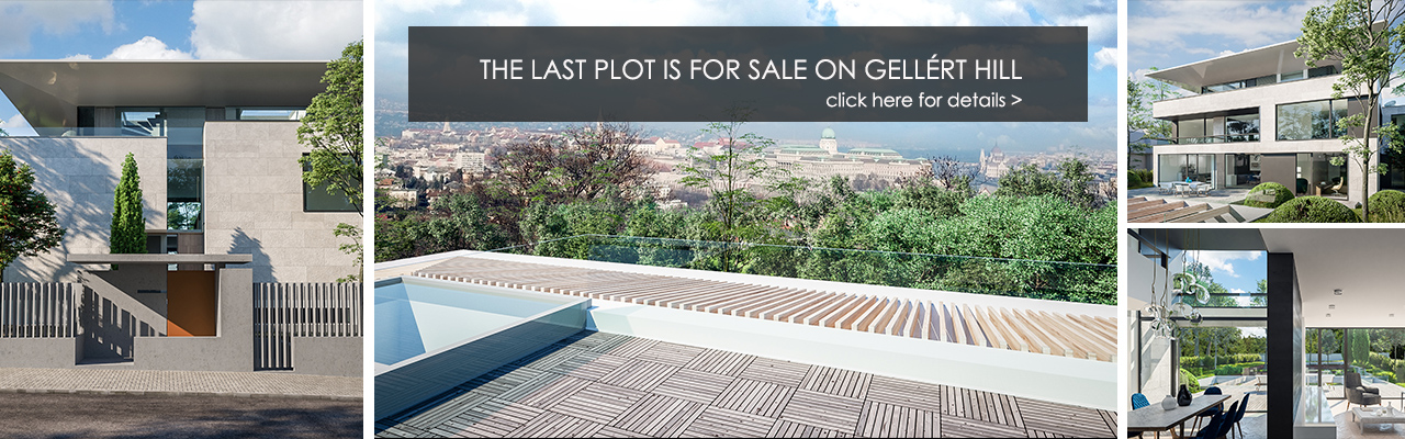 Budapest - The last plot is for sale on Gellért Hill