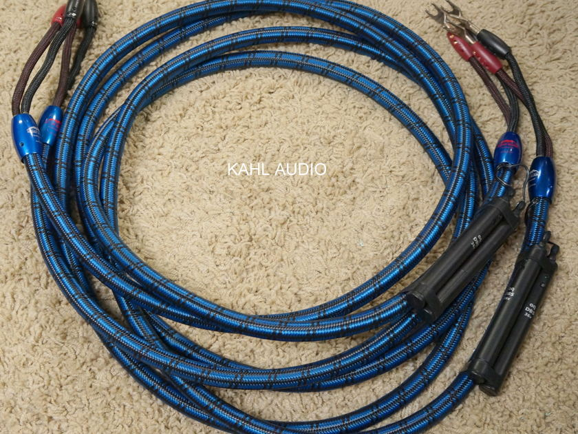 AudioQuest Mont Blanc  speaker cables. 10ft pair. $2,100 MSRP