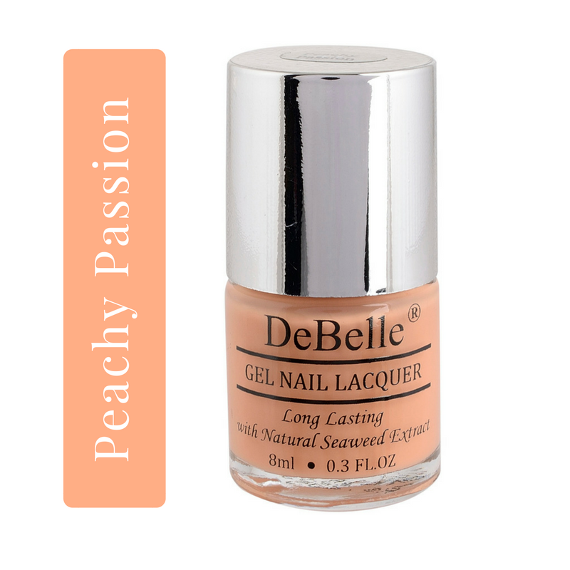 DeBelle Peach Nail polish