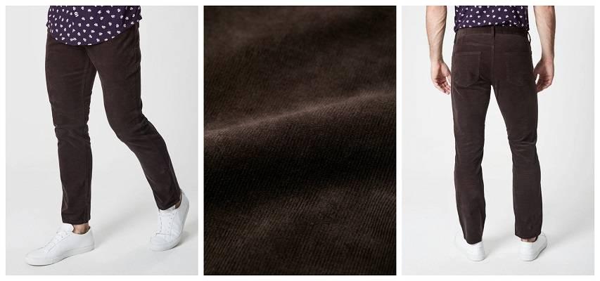MOCHA BROWN CORDUROY PANTS