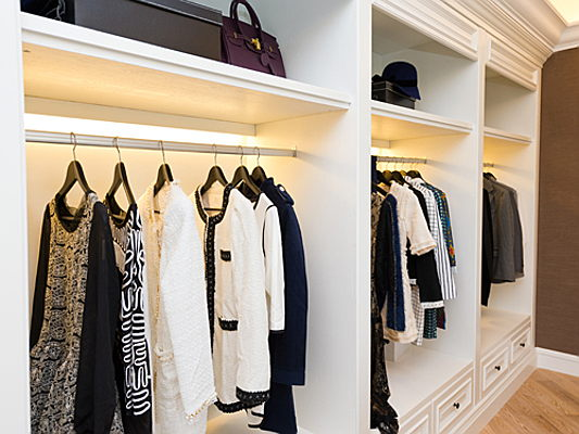 Sant Just Desvern - How closet lighting can really brighten your day