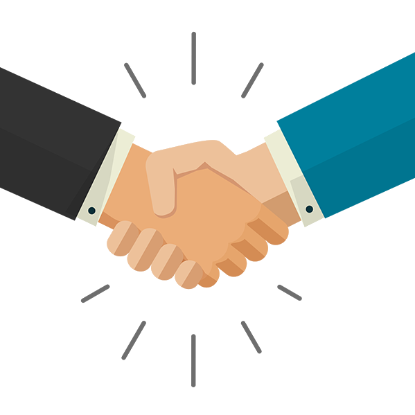 OBI Services Why Choose OBI Services Handshake Image