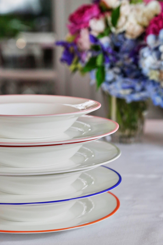 bone china tableware soup bowl