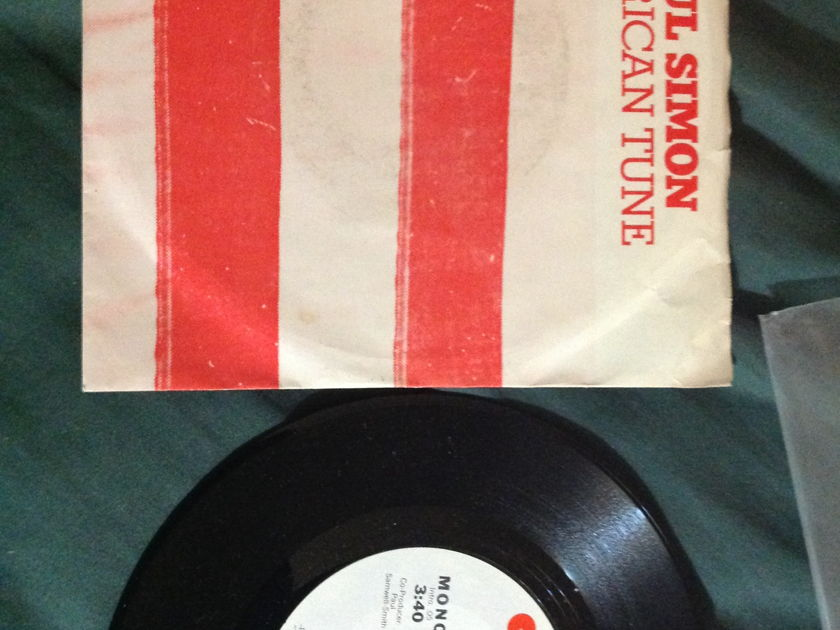 Paul Simon - American Tune Promo r45 With Sleeve