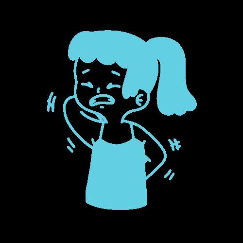 Girl With Sensitive Skin