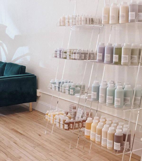Hi Honey Salon, a Davines concept salon