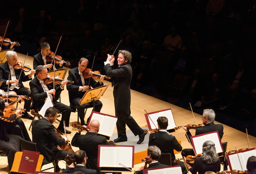 Gustavo Conducts Gurrelieder artwork