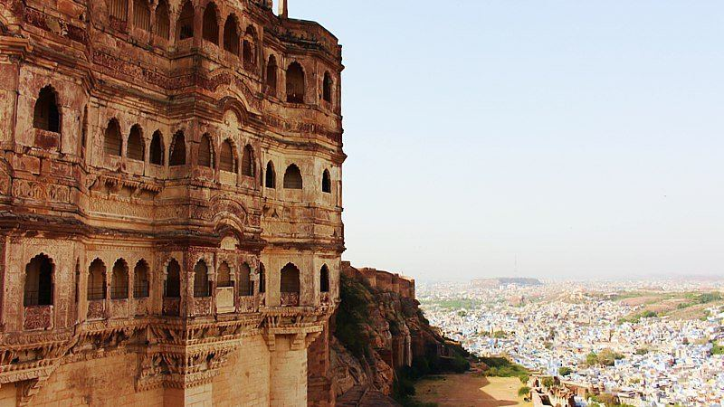 View from Jodhpur Fort, India