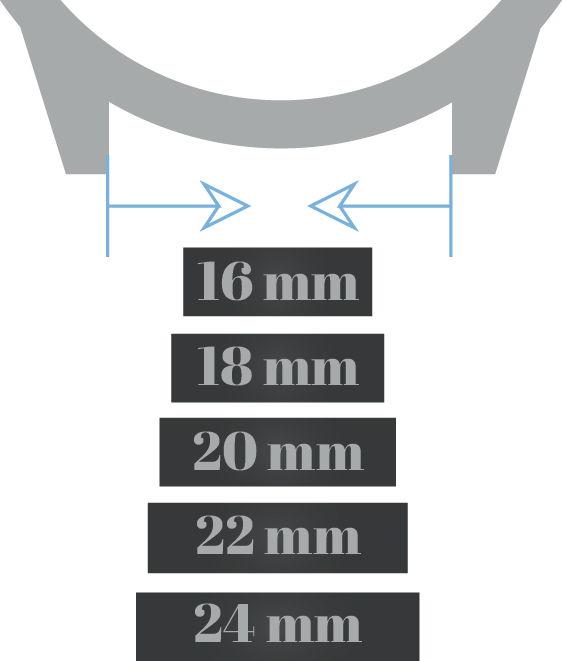 watch lug width measurement