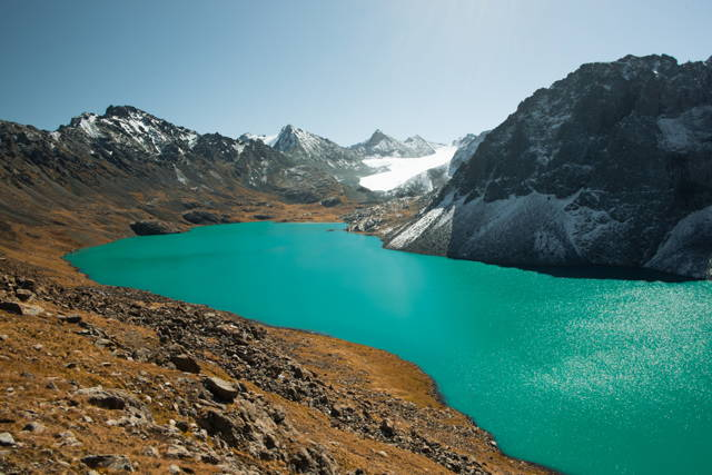 Trip for 2 persons to highest alpine lake (11days)
