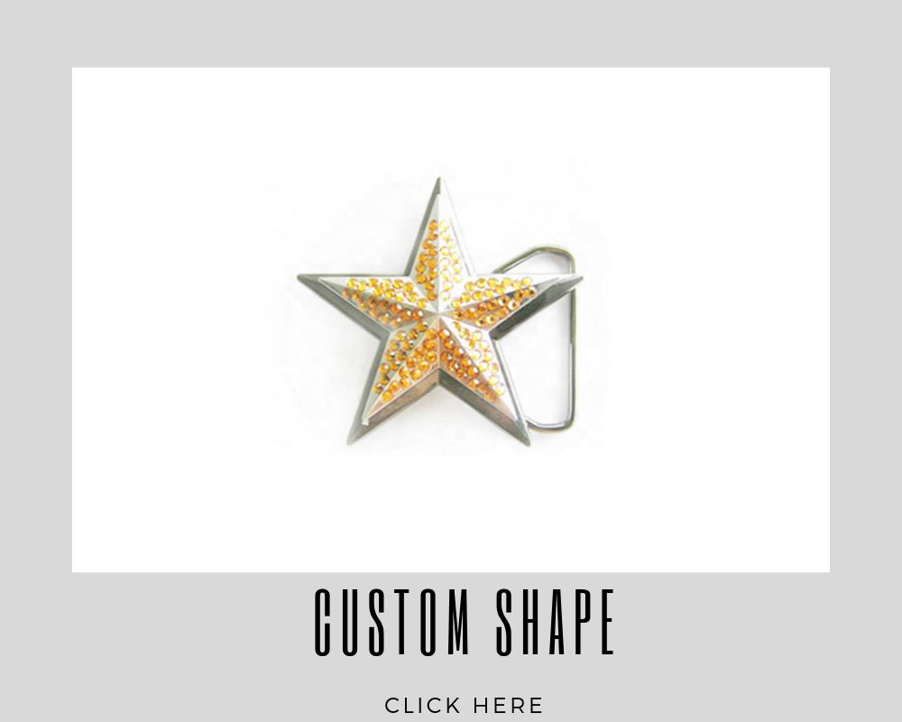 Corporate Custom Shape Belt Buckles