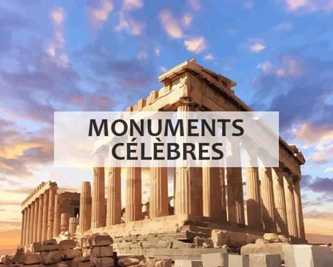 Peinture par numéros collection monuments célèbres