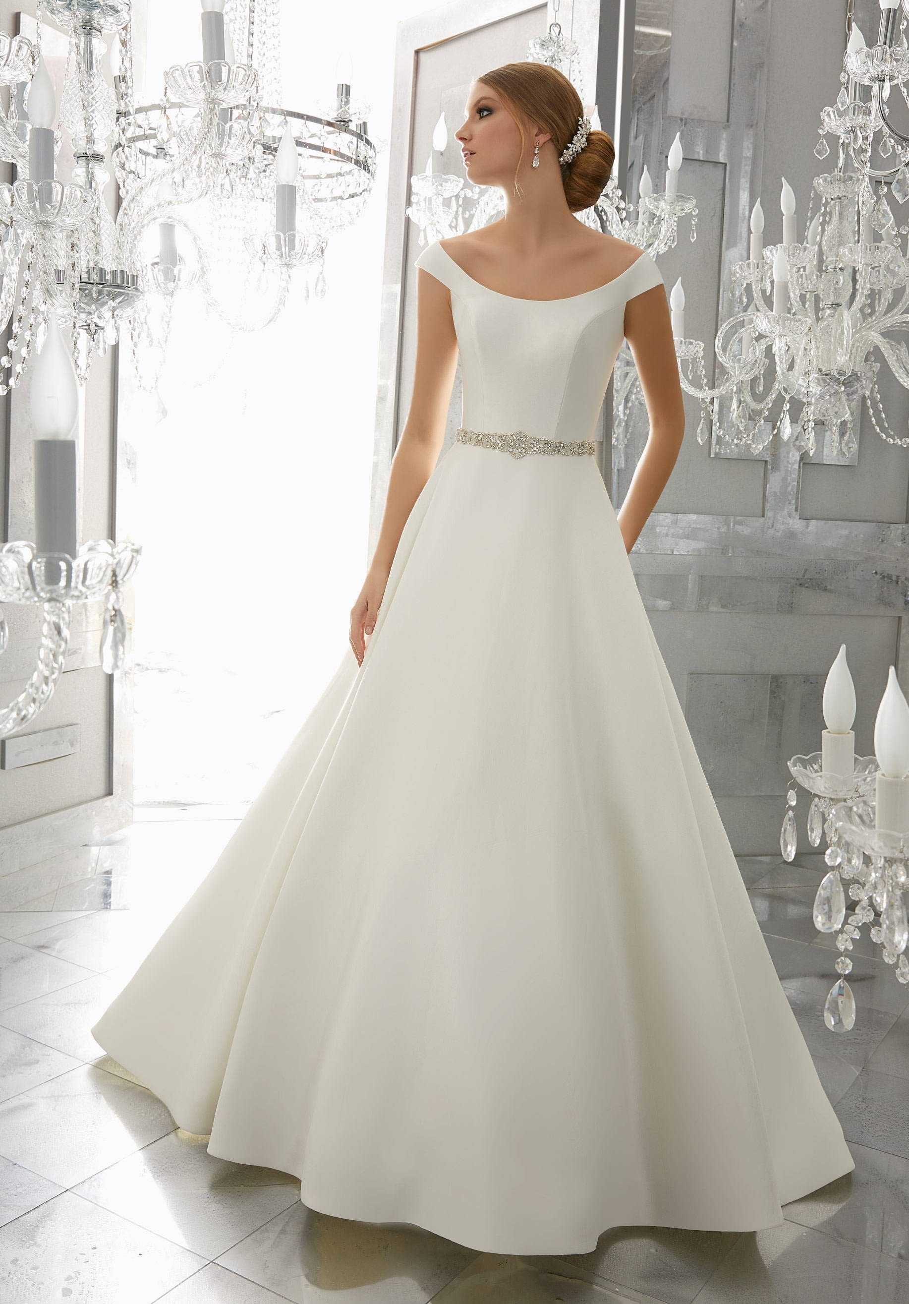 MORI LEE  WEDDING DRESS 8179