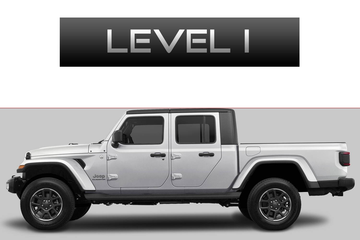 JEEP Gladiator JT Off-Road Customizing Package Level 1 by 3C Trucks