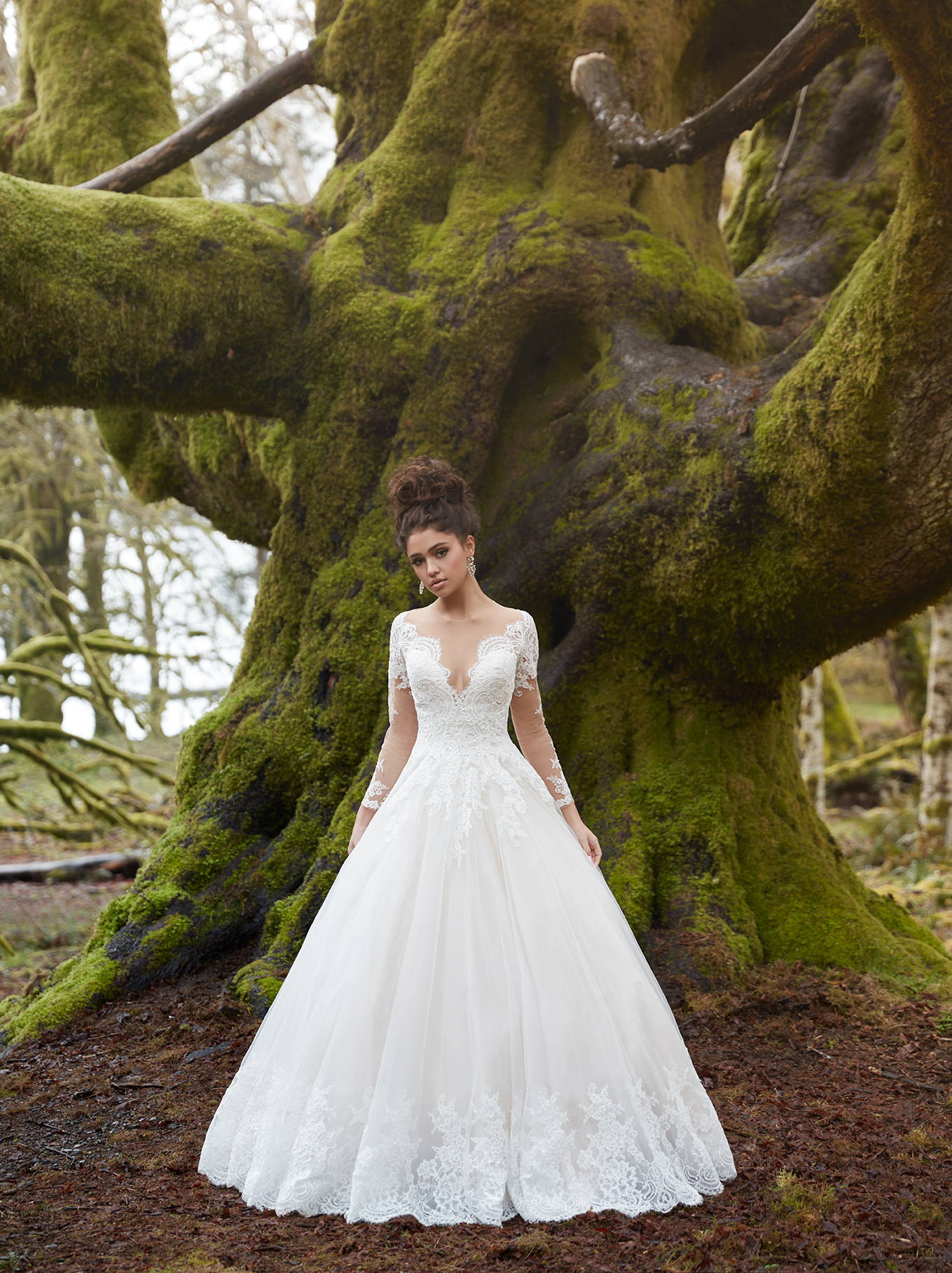 ALLURE  WEDDING DRESS 9366