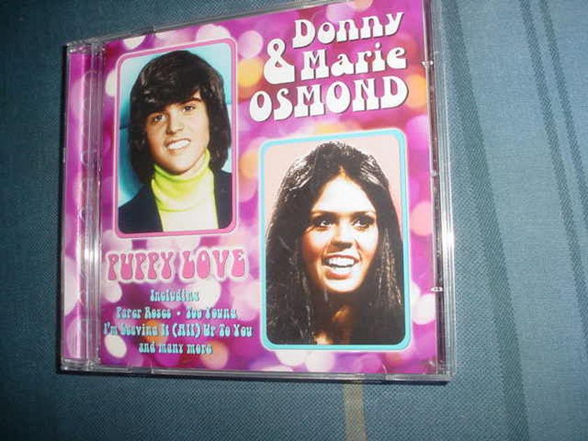 Donny & Marie Osmond - puppy love  cd UK