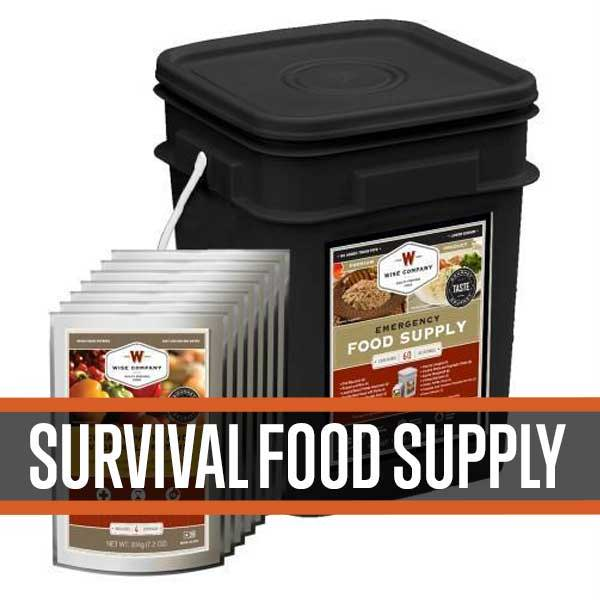 emergency survival food rations