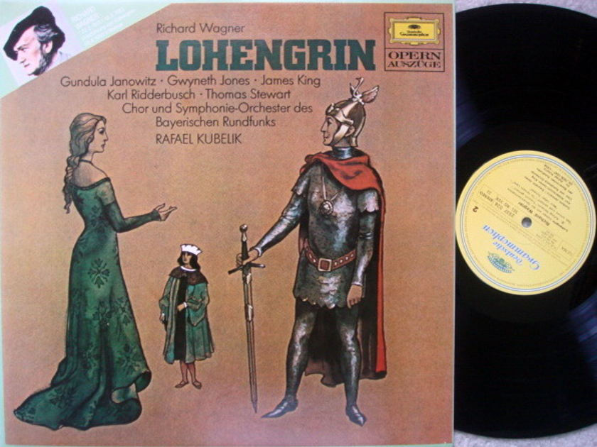 DG / KUBELIK-JONES-KING, - Wagner Lohengrin Highlights, MINT!