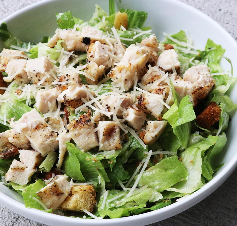 Lunch caesar salad for Salas lunchs