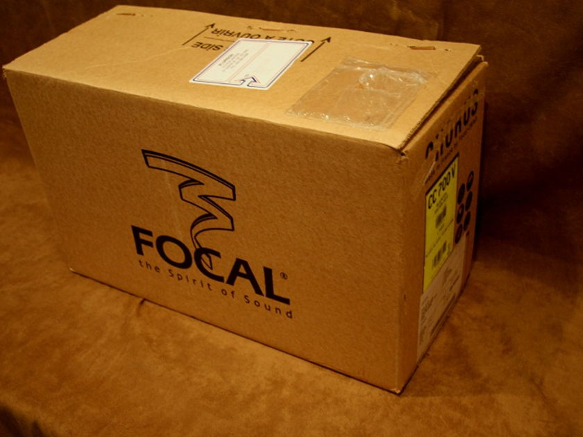 Focal CC 700V Black