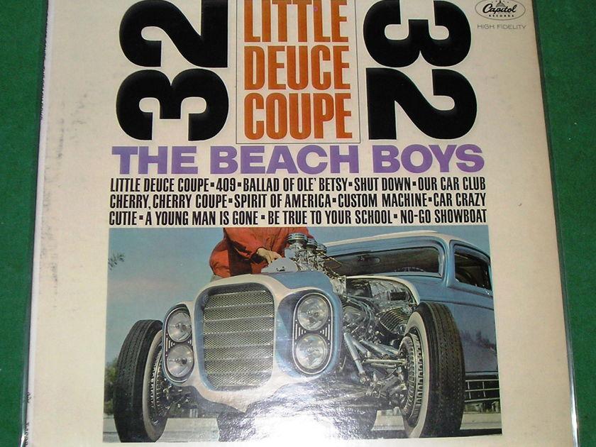 BEACH BOYS  LITTLE DEUCE COUPE - * MONO * ORIGINAL 1963 ALBUM * Excellent 9/10 *