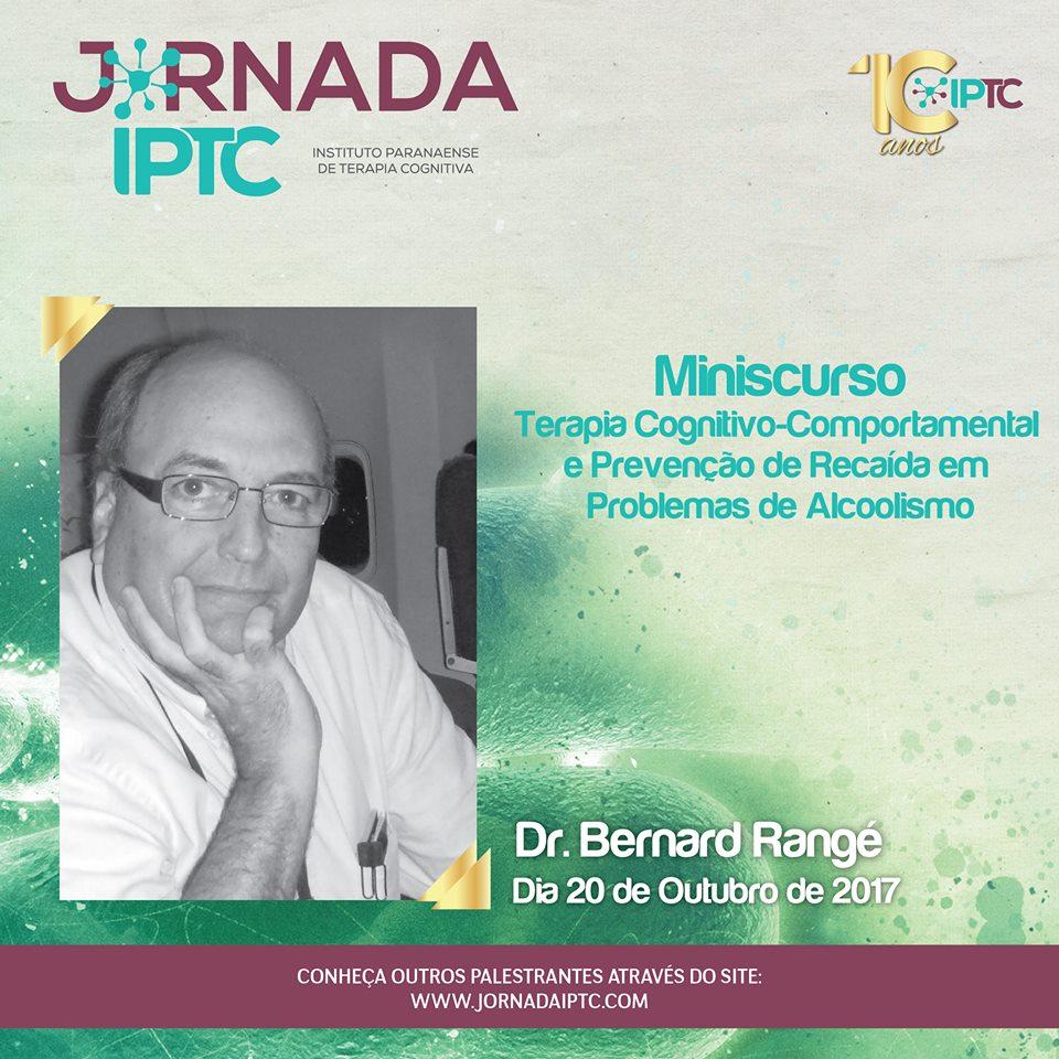 Jornada IPTC - Minicurso TCC  e Prevenção de Recaída em Problemas de Alcoolismo