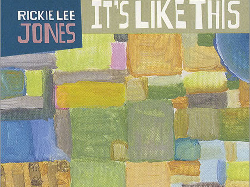 Rickie Lee Jones - Its Like This promo CD...diff artwork