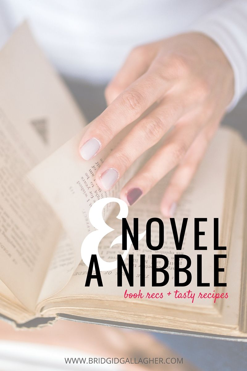 Novel and a Nibble: Read book reviews + recipes paired with the books! Today's reviews are for MORE THAN FASHION by Elizabeth Briggs and UNDER THE LIGHTS by Dahlia Adler. Click through to read the reviews & see the recipes! // www.bridgidgallagher.com