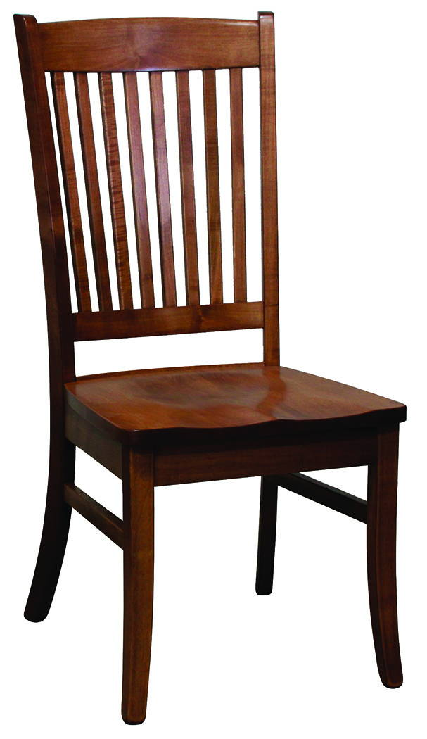 Franklin Solid Wood, Handcrafted Kitchen Chair or DIning Chair from Harvest Home Interiors Amish Furniture