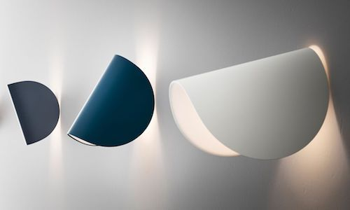 FontanaArte IO Wall Lights, featured in 3 different colors