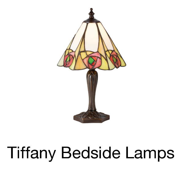 tiffany bedside lamps