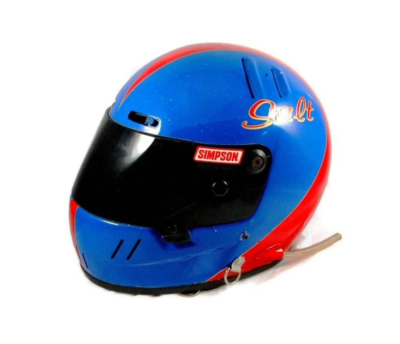 salt walther racing helmet