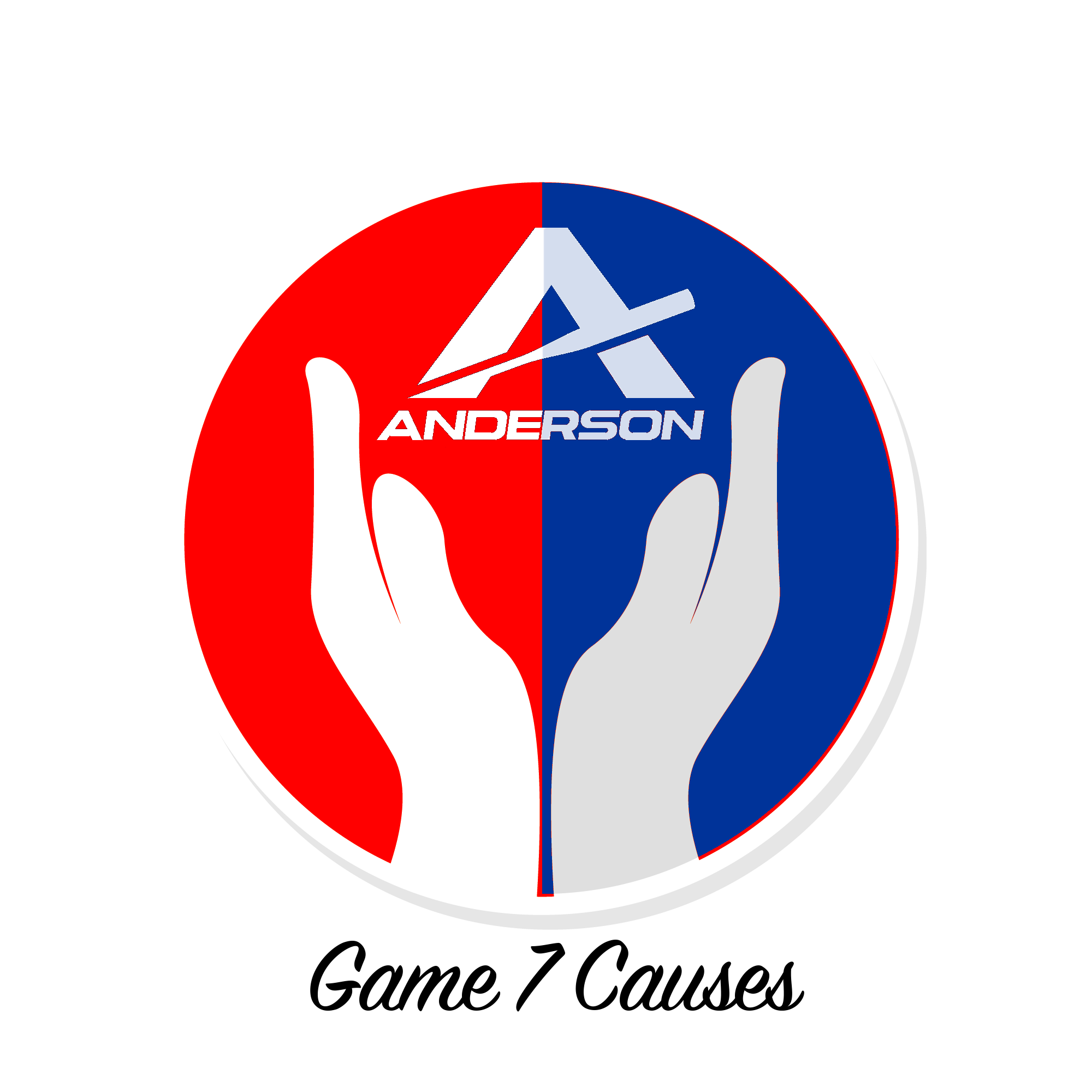 anderson bat game 7 causes charity logo