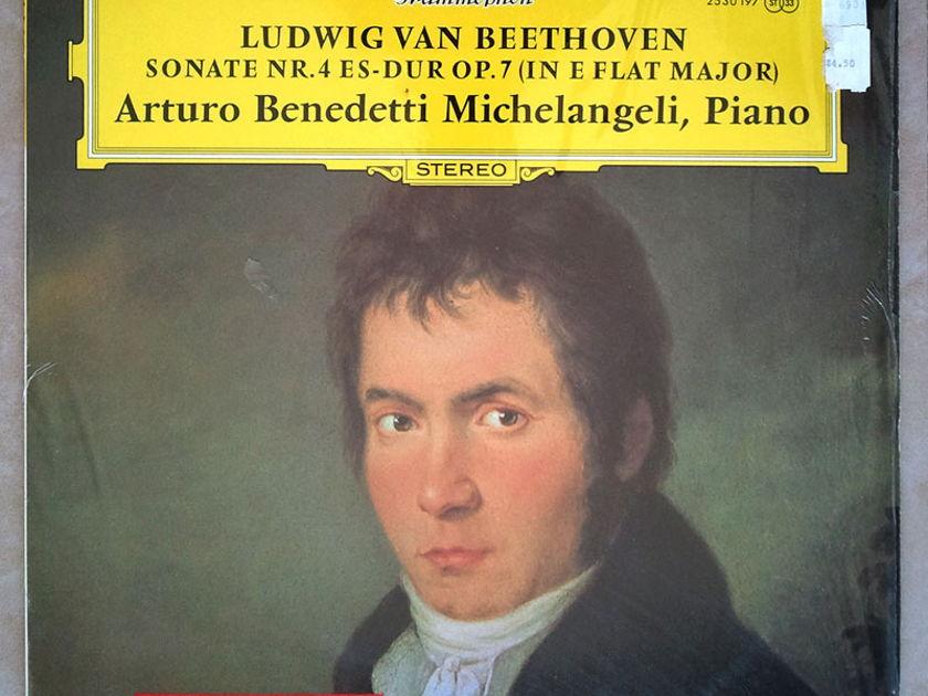 DG   MICHELANGELI/BEETHOVEN - Sonata No. 4 Op. 7 / NM