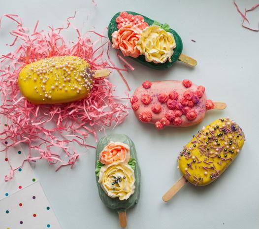 Немороженое - ассорти артпопсов или десертов на палочке