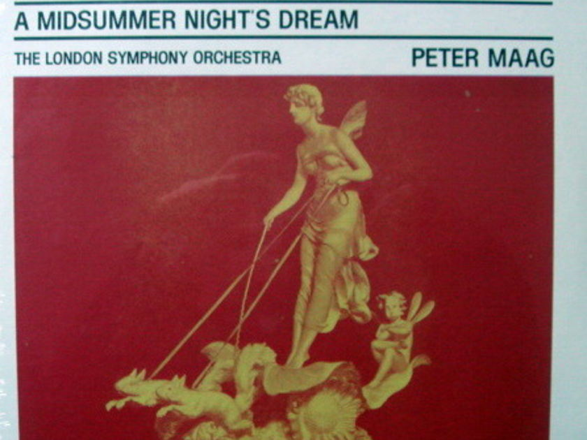 ★Sealed★ London-Decca / MAAG, - Mendelssohn  A Midsummer Night's Dream!