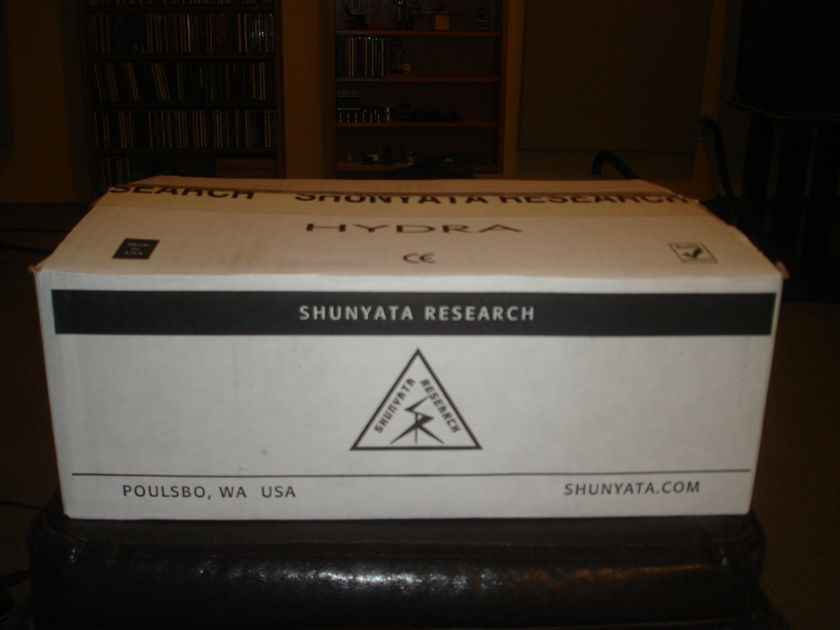Shunyata Research Hydra 2 Alpha Power Conditioner with Hydra HC power cord