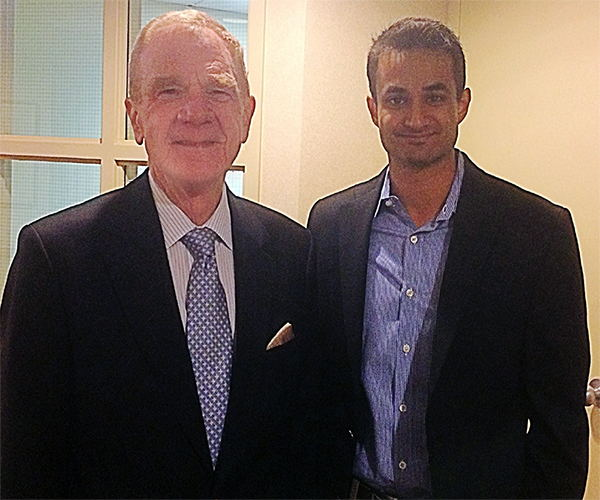 Meeting the Dean of University of Pittsburgh's School of Dental Medicine