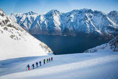 PRIVATE Ski Touring in the Sunnmore Alps