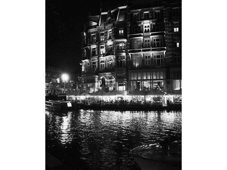 """Nightlife in Amsterdam""- Framed 8X10 photograph"