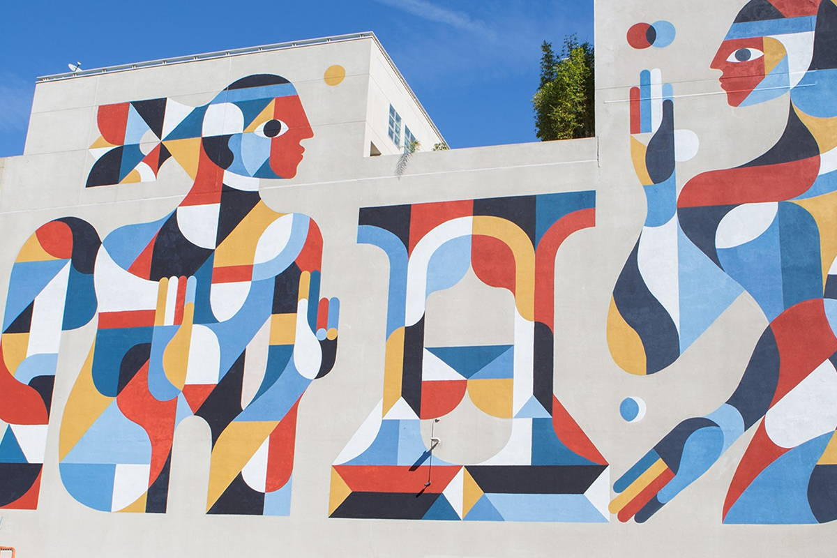protecting and preserving a mural
