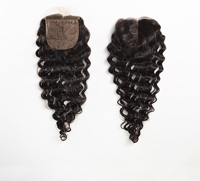 Deep Wave Silk Closure Mayvenn
